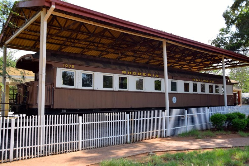 National-Museum-Art-Gallery-Rhodesia-Train-Cart-Gaborone