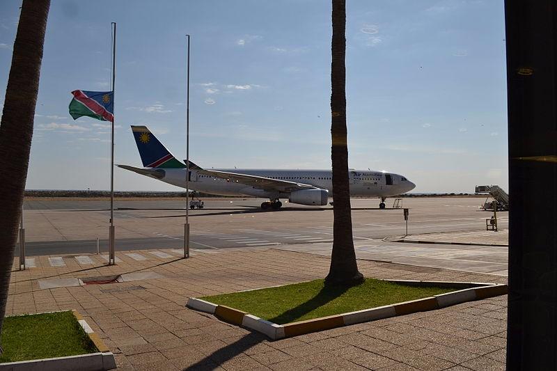 Air_Namibia_A330_at_Windhoek_Airport