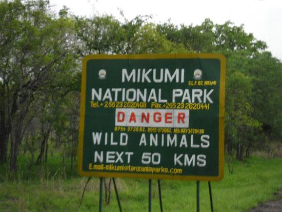 Mikumi_National_Park_sign