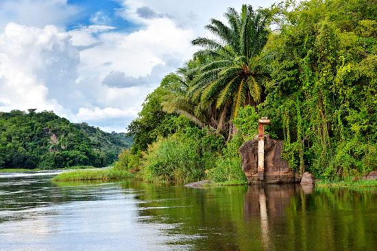 White Nile River Uganda Prodafrica Business Map