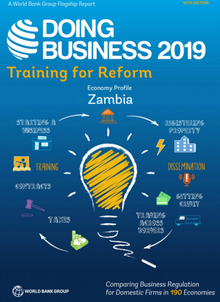 DOING BUSINESS IN ZAMBIA 2019 – World Bank 1