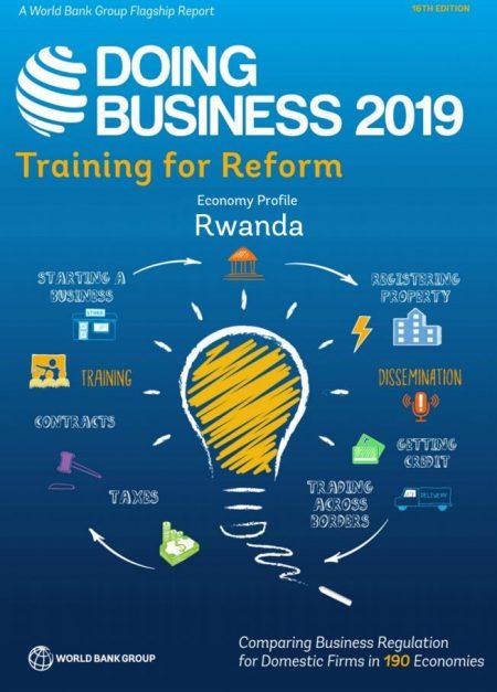 DOING BUSINESS IN RWANDA 2019 – World Bank 1