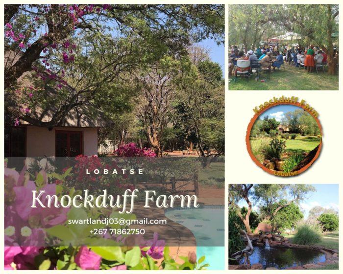 knockduff farm lobatse