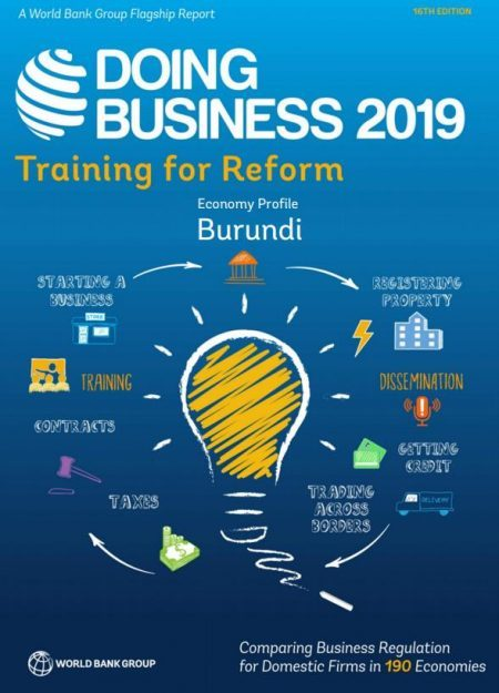 DOING BUSINESS IN BURUNDI 2019 – World Bank