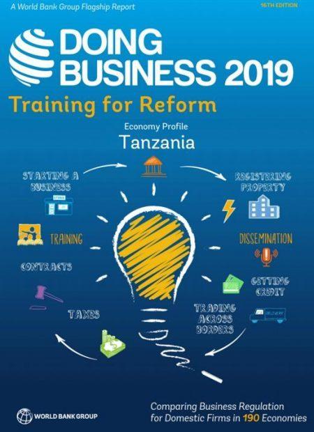 DOING BUSINESS IN TANZANIA 2019 – World Bank